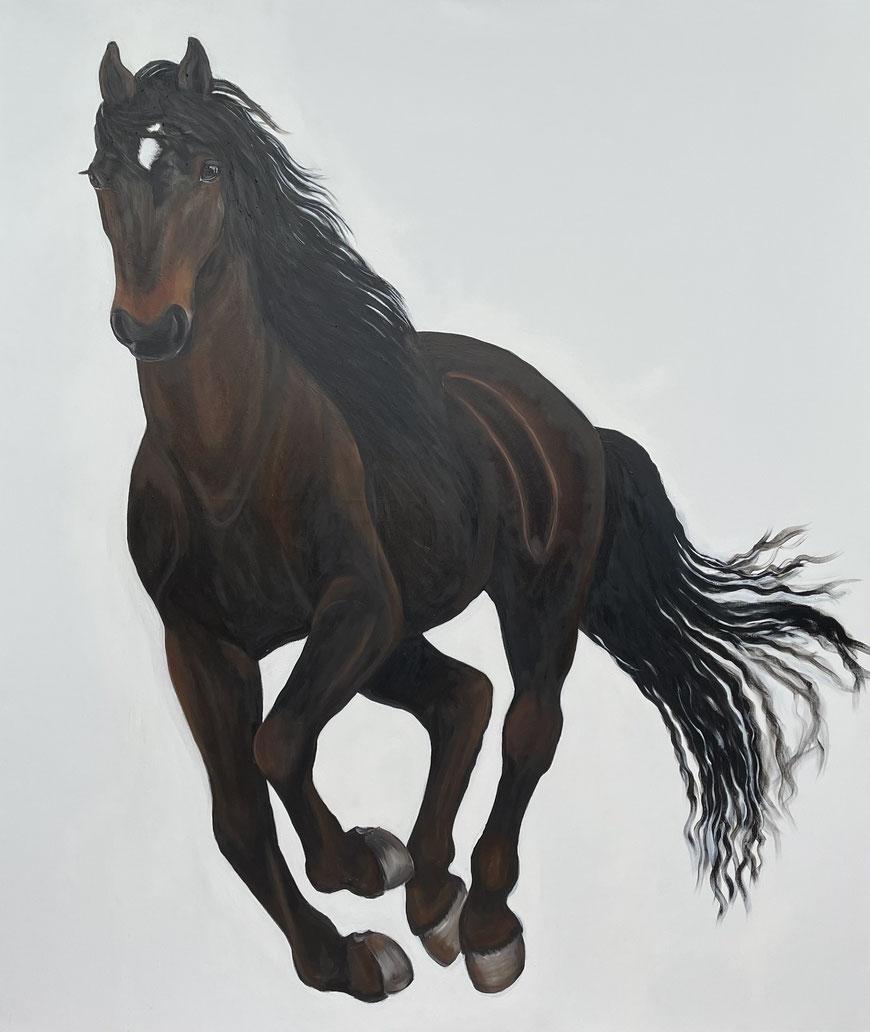 Ballatines, Oil on Canvas, 200 x 170 cm , 2021.