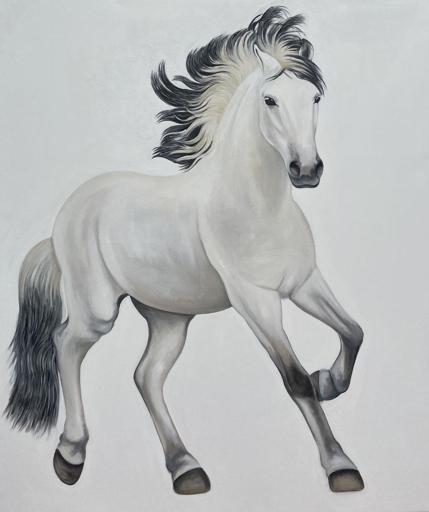 Balou, Oil on Canvas, 200 x 170 cm, 2021.