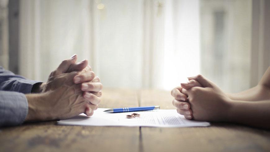 Trennung, Scheidung, Vereinbarung