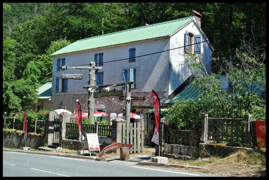 Le restaurant A Muntagnera au Col de Vizzavona, en Corse