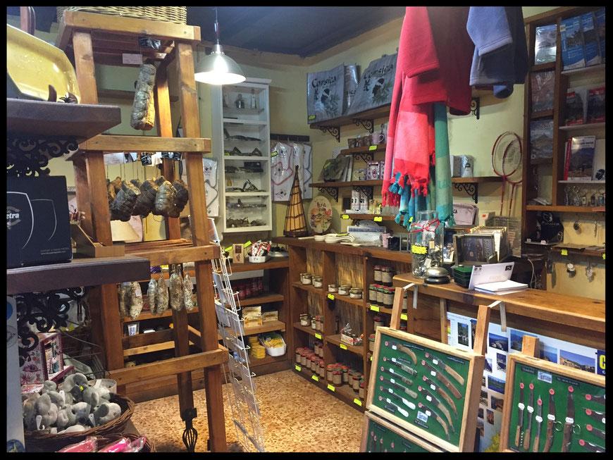 La boutique A Muntagnera au Col de Vizzavona, en Corse