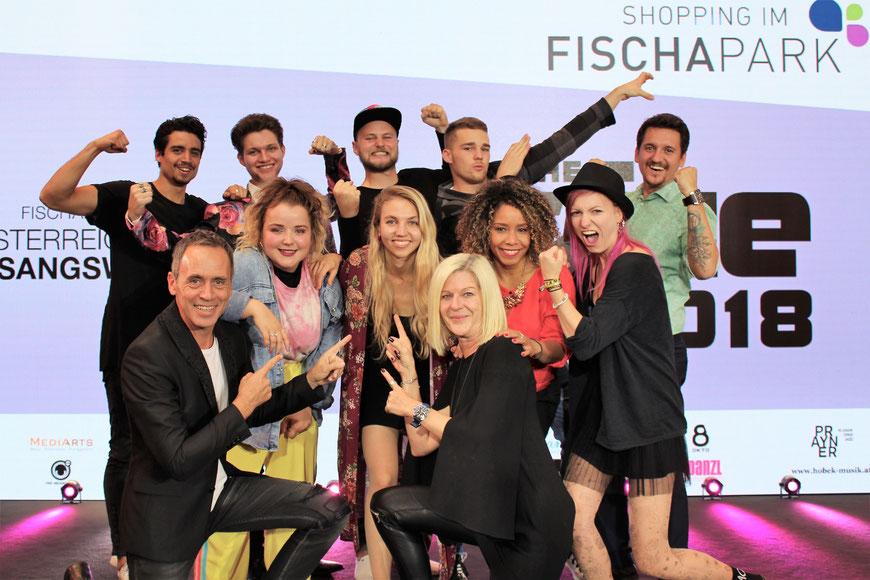 THE VOICE 2017. Die FinalistInnen
