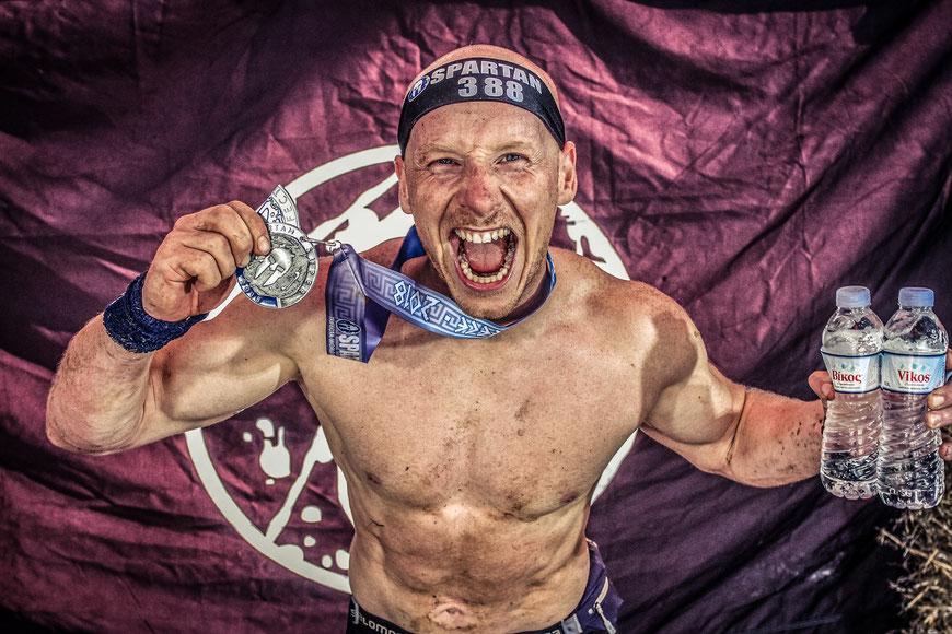 Christian Kraus Spartan Race Trifecta WC AG 30 - 39 2. Platz
