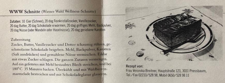 WWW Schnitte (Wiener Wald Wellness - Schnitte)