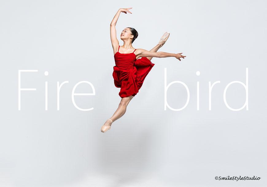 バレエ写真の撮影。スマイルスタイルスタジオ