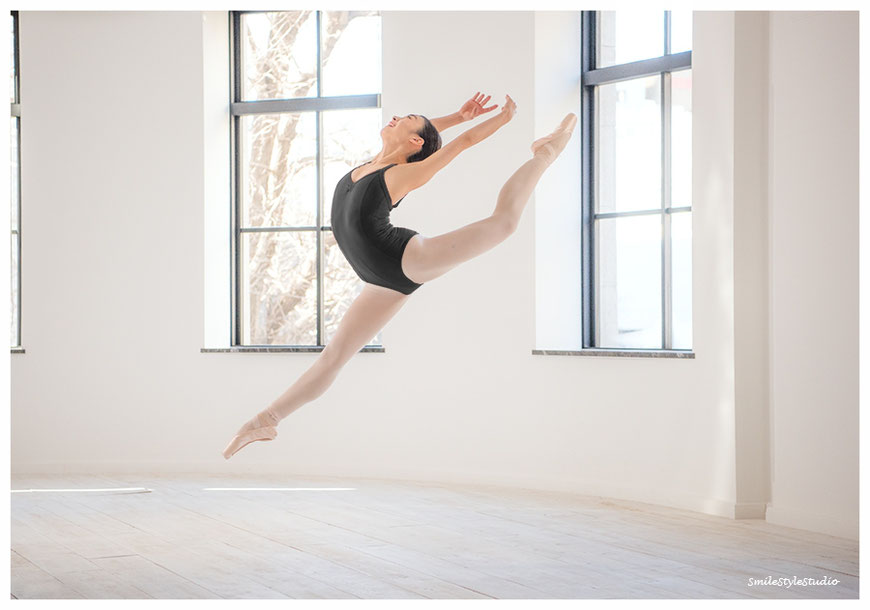 海外バレエカンパニーオーディション用 dancer Yuka   カメラ&ポーズアドバイザーHibiki ヘアメイクKana      2016.12.26