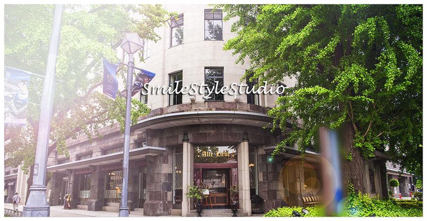 横浜の人気レストラン「アルテリーベ」さん、2Fがスマイルスタイルスタジオ。