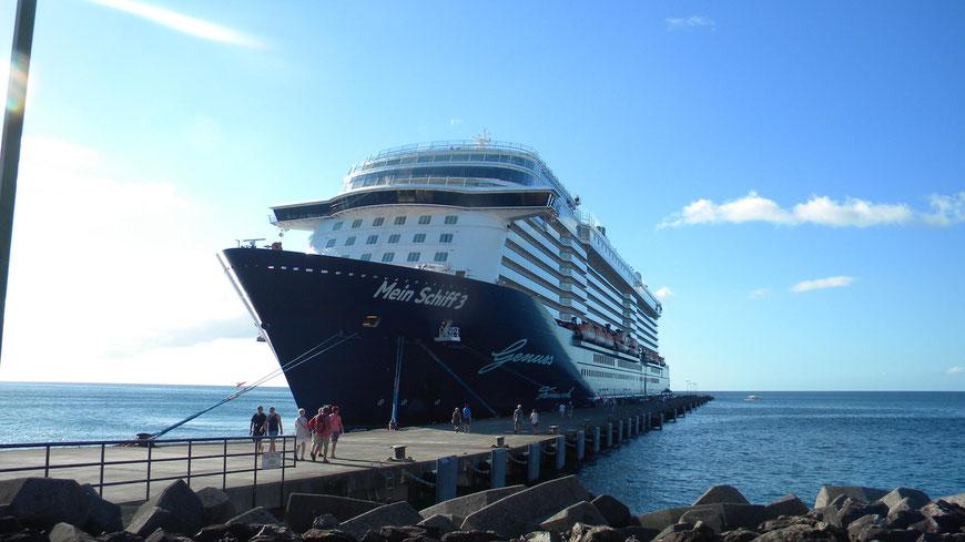 Mein Schiff 3 am Cruise Terminal