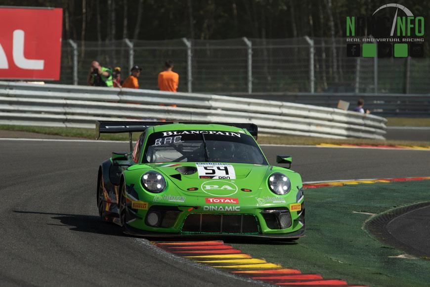 Im letzten Jahr konnte Dinamic Motorsport vor allem bei den Rennen in Monza und Spa überzeugen