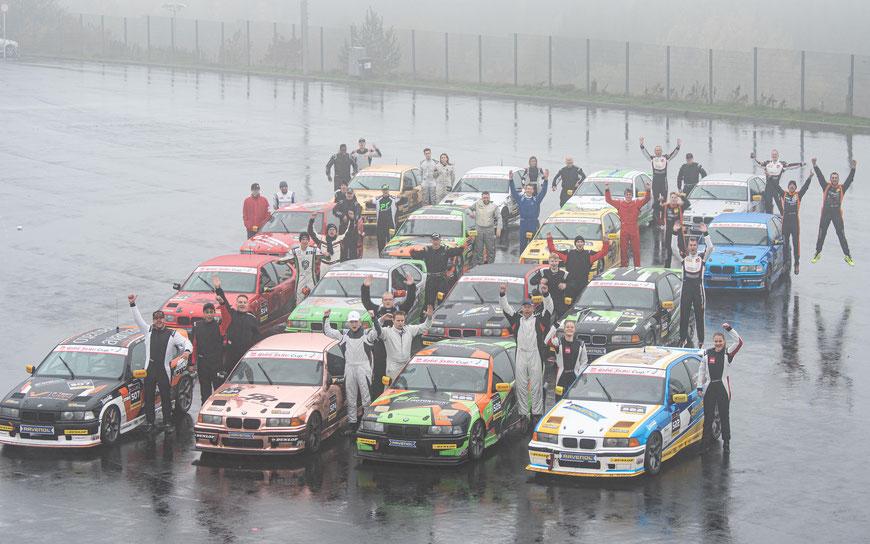 Das Feld des BMW 318ti Cups wächst ein weiteres Mal
