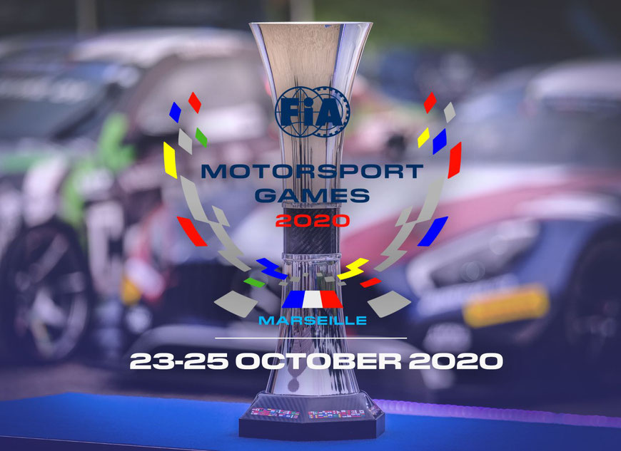 Vom 23-25 Oktober in Marseille und Paul Ricard; Die Motorsport Games 2020