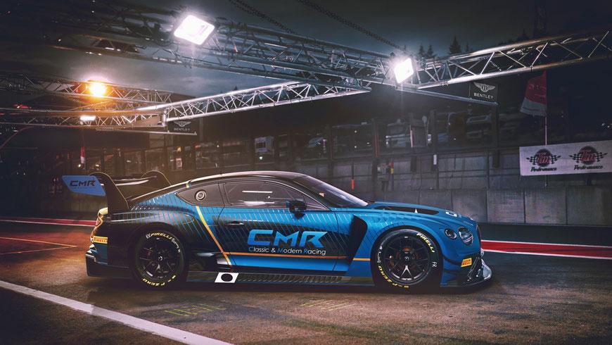 Ab diesem Jahr dabei: Die Bentleys des CMR Teams