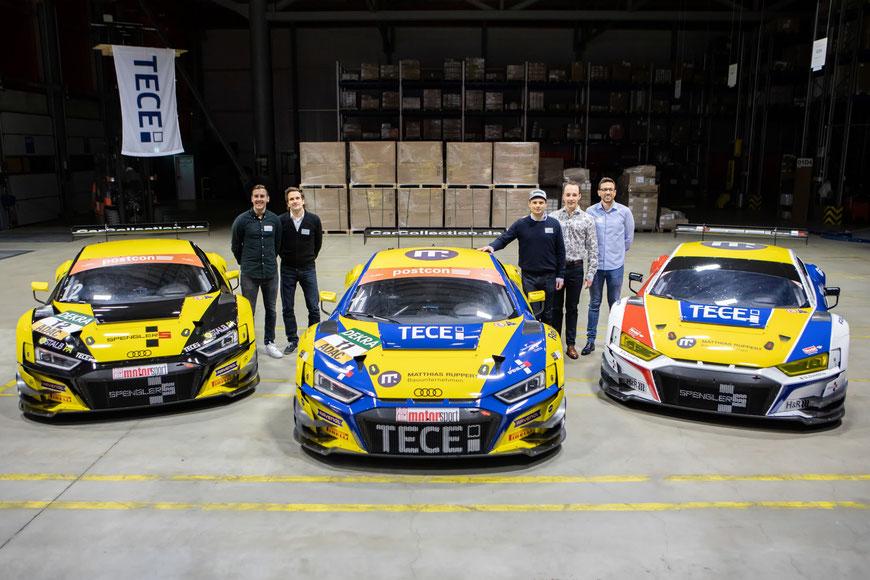Mit drei Audis in die Motorsportsaison 2020