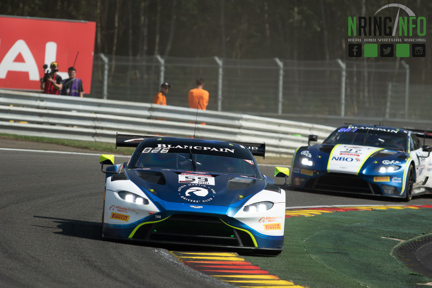 Garage59 beim 24h-Rennen in Spa-Francorchamps