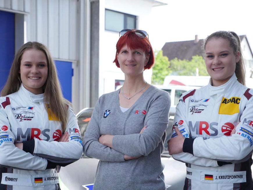 v.l.n.r.: Alesia Kreutzpointner, Iris Dorr, Jacqueline Kreutzpointner