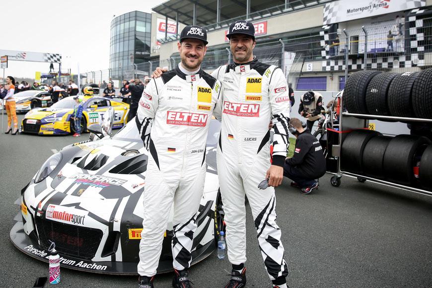 Jan-Erik Slooten (l.) und Lucas Luhr (r.) waren von Anfang an gemeinsam im IronForce Racing-Projekt involviert