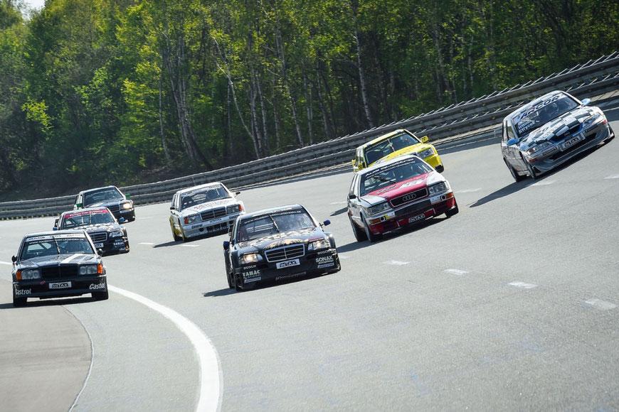 Die Tourenwagen Legenden werden am Freitag des diesjährigen 24h-Rennens zwei Demorunden über die Nordschleife drehen