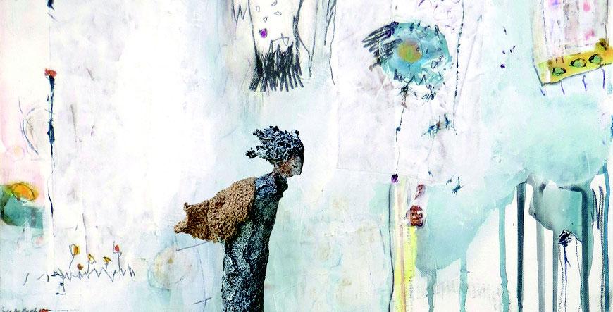Skulptur und Malerei von Claudia König