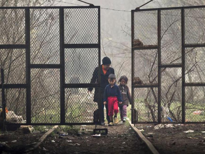 O centro de refugiados de Idomeni, Grécia (foto: Independent UK)