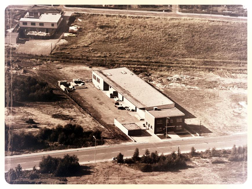 Firmengelände um 1962