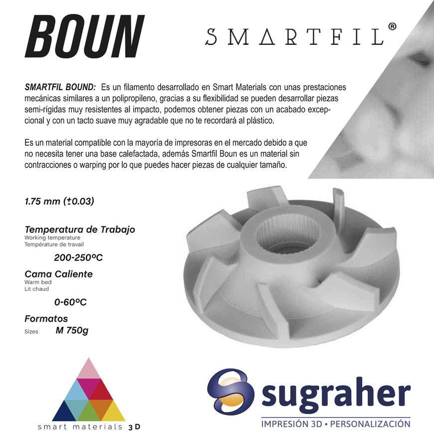 Filamento 3D Boun de Smartmaterials