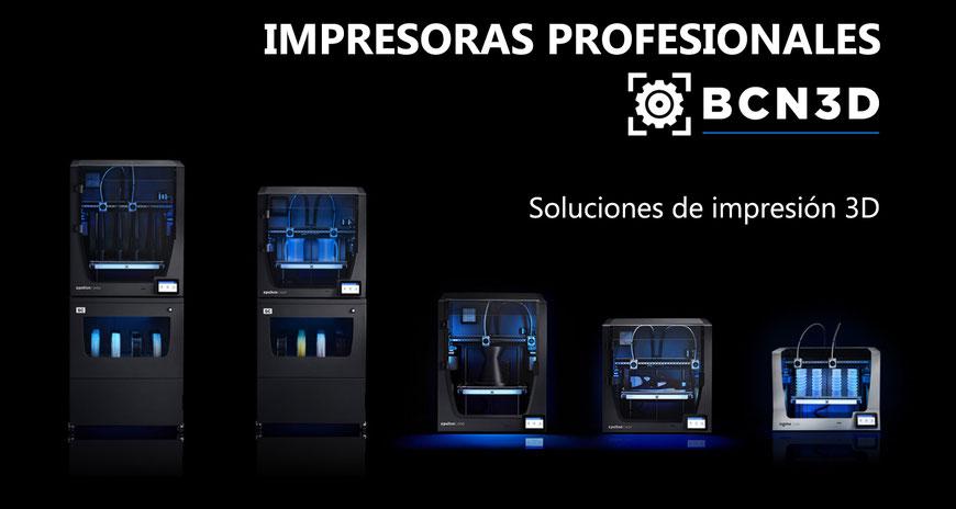 Impresoras 3D profesionales de BCN3D