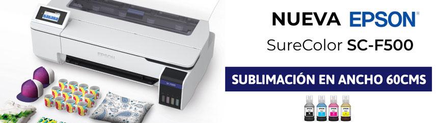 IMPRESORA EPSON SUBLIMACIÓN SURECOLOR SC-F500
