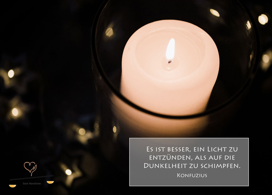 Ganzheitliche Psychosoziale Beratung Sara Vercellone - Blog 1. Advent: es werde Licht