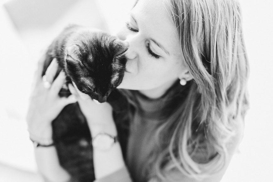 Katzenliebe.