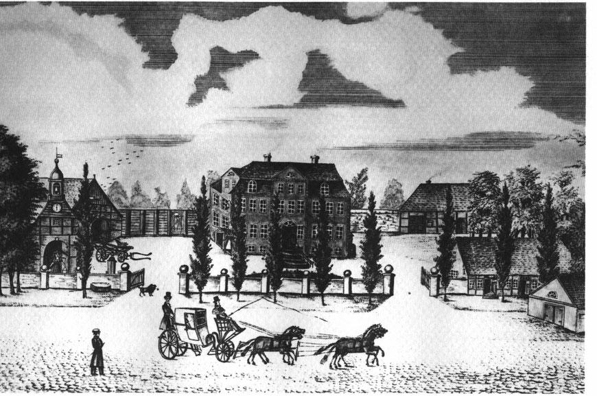 Historische Ansicht der Drostei. Foto: PR/Drostei.