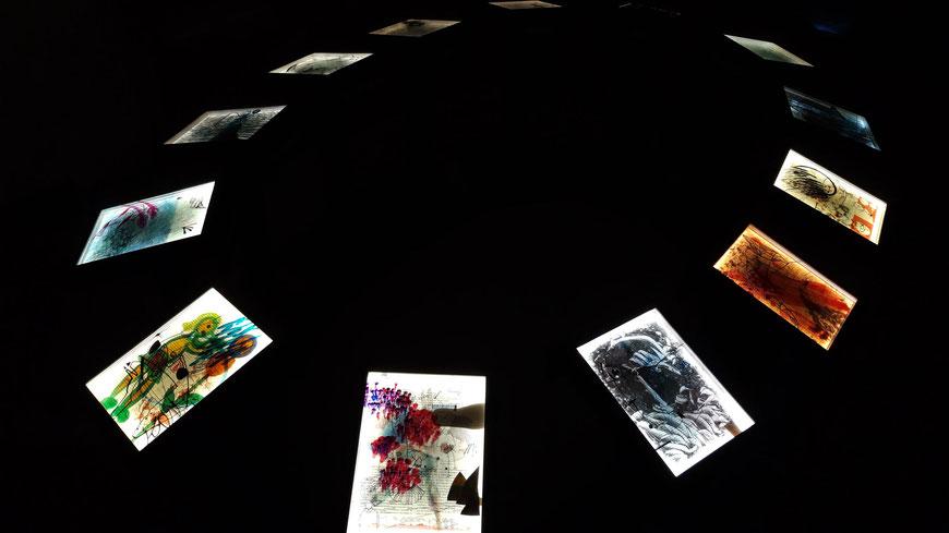 LICHT DER MENSCHHEIT | ausstellung auf der kunstmesse TRANSFORM-ARTE 2022 in eisenstadt