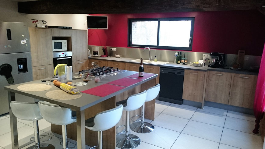 Cuisine quipe Ton Bois  Cailleville   Cuisine Home Concept