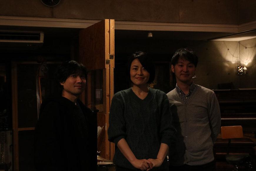 L→ 黒沢秀樹、歌手常盤ゆう、及川雅仁