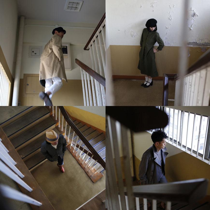 左上から時計まわりに島田正史、美音子、山口真志、水谷ケイゴ