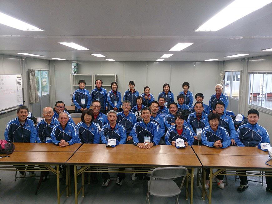 大会2日目太田会場のSCUのメンバー