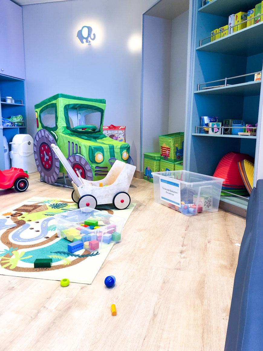 Spielspaß im Babynest, Kidsclub und in der Arena - Kinder können sich an Bord auspowern
