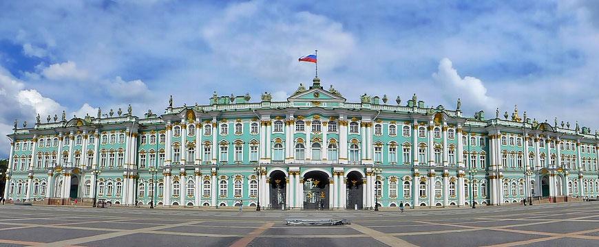 Winterpalast Eremitage Hermitage Museum St. Petersburg Russland