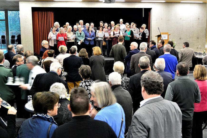 Neujahrsempfang Bezirk Kornelimünster 2019 Dorfchor Interessengemeinschaft der Ortsvereine