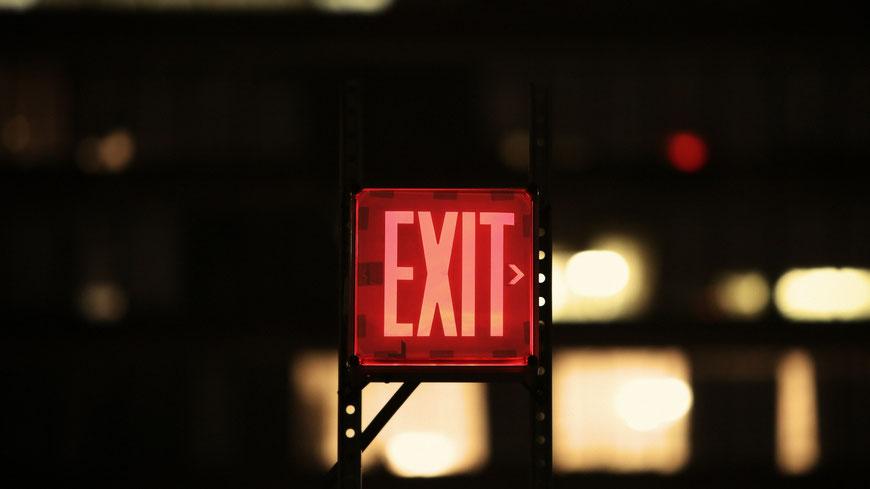 Exit-Schild