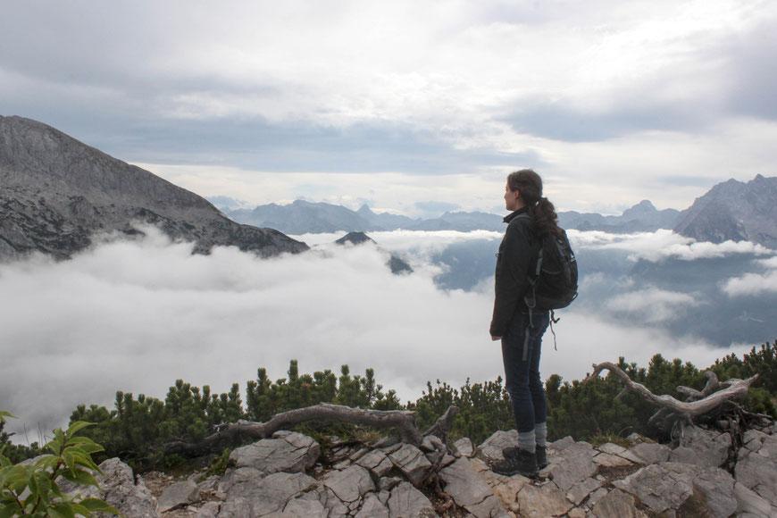 Über den Wolken (c) Salomé Weber