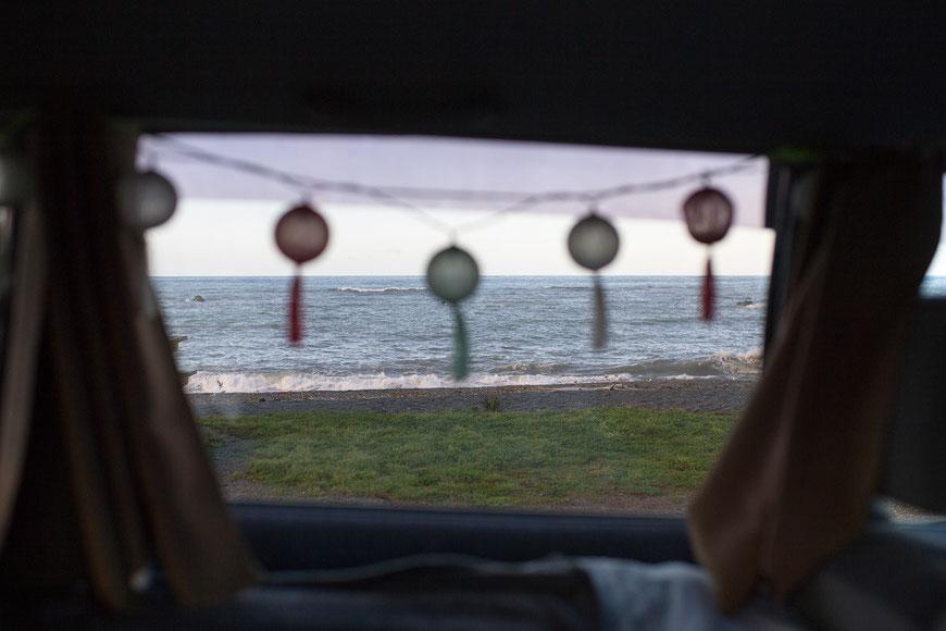 Aufwachen mit Blick aufs Meer? An manchen Orten in Neuseeland ist das kein Traum.