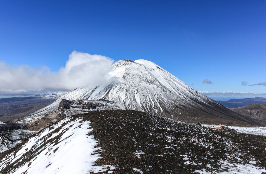 Mount Ngauruhoe, Tongariro Crossing, Neuseeland