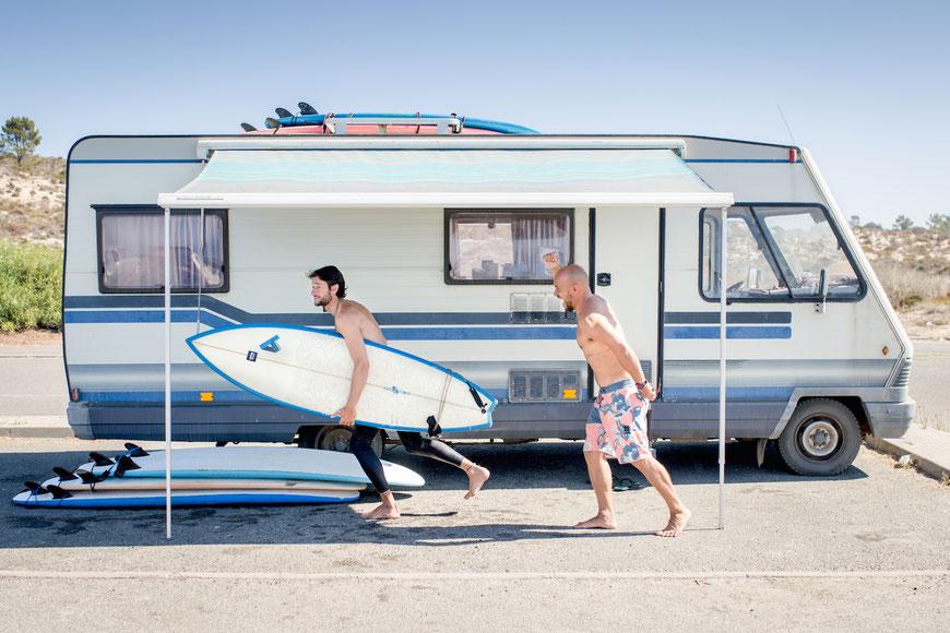 Der beste Surfkurs im Alentejo Surfcamp. (c) Salomé Weber