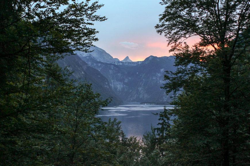 Sonnenuntergang am Obersee (c) Salomé Weber