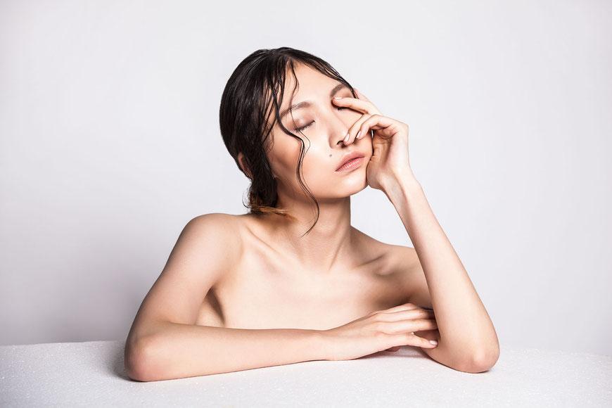 Beauty of a oriental girl by Monica Monimix Antonelli