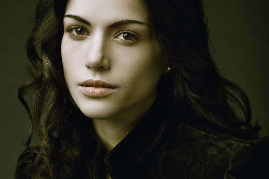 Portrait of Elena Stival by Monica Monimix Antonelli