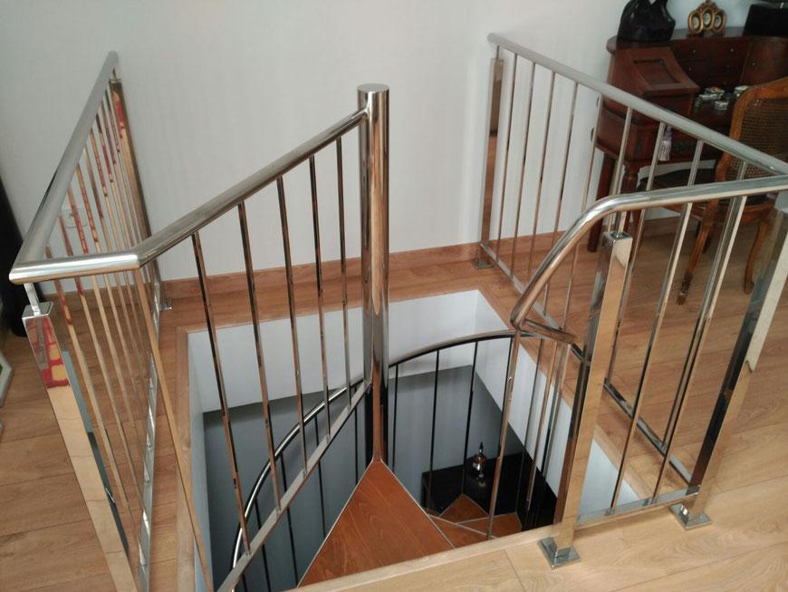 Escaleras de Caracol - Escaleras Laravid : Trabajos en Acero