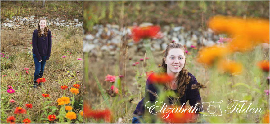 Kansas City wildflowers; senior photographer