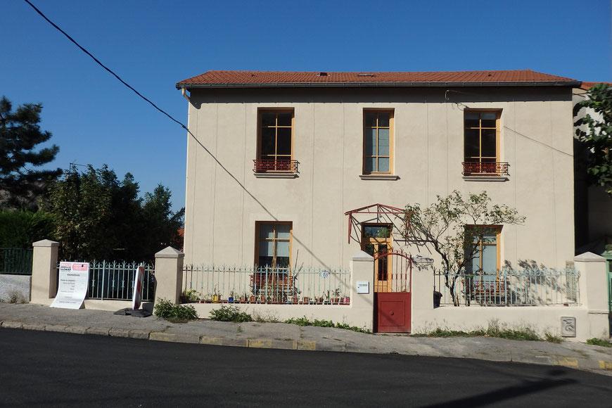 Rénovation et isolation par l'extérieur d'une maison à Saint-Etienne