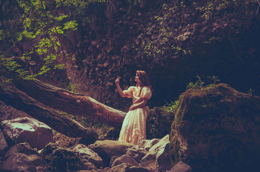 fantasy photography fairytale - Lost princess